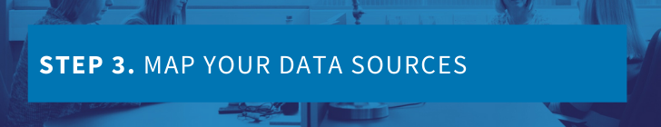 Step 3 - map your data sources